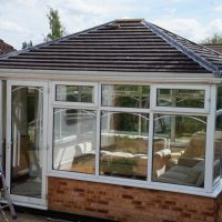 Edwardian Double Hipped Conservatory Renovation - Cropston 7/10